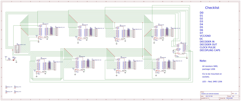 Enjoyable 8X8X8 Led Cube Easyeda Wiring 101 Dicthateforg