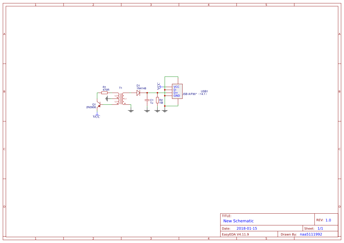 Usb Killer Easyeda Circuit Diagram Schematic