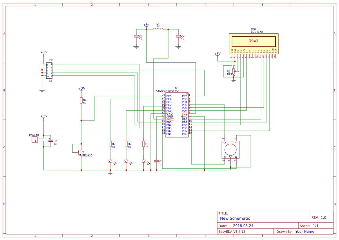 Temperature2bsensor2bproject Search Easyeda Lm75 Temperature Sensor Schematic Kontrola