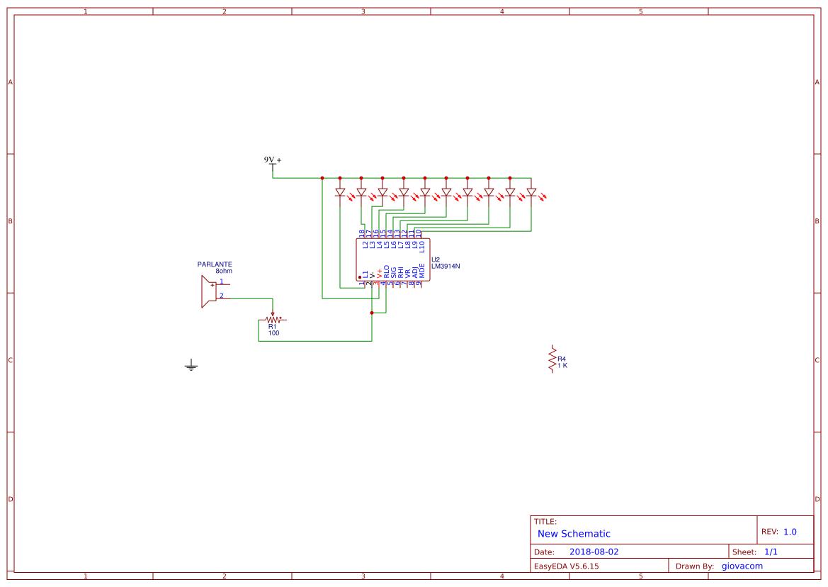Vumetro Lm3915 Search Easyeda Vu Meter Circuit Default Thumb