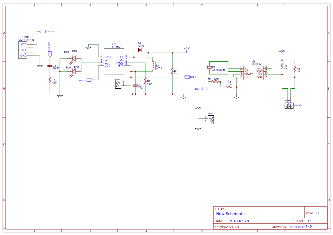 smart watch circuit