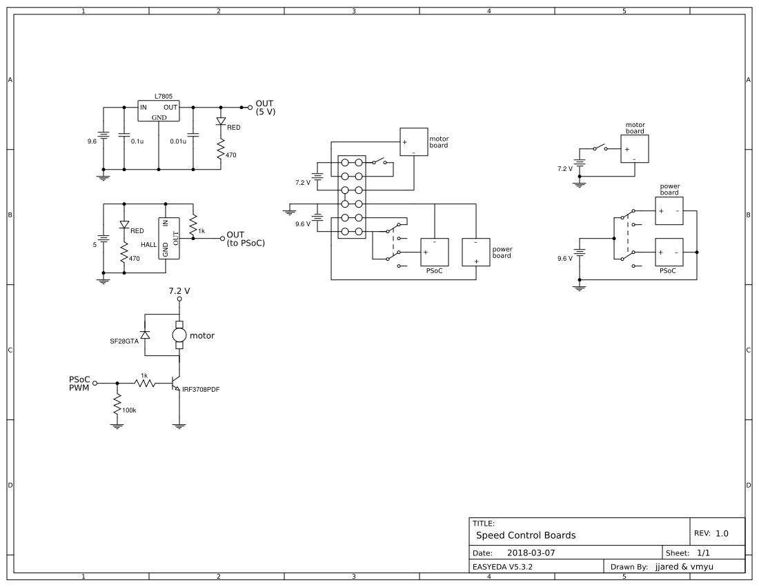 Speed Control Easyeda P Id Block Diagram Pid