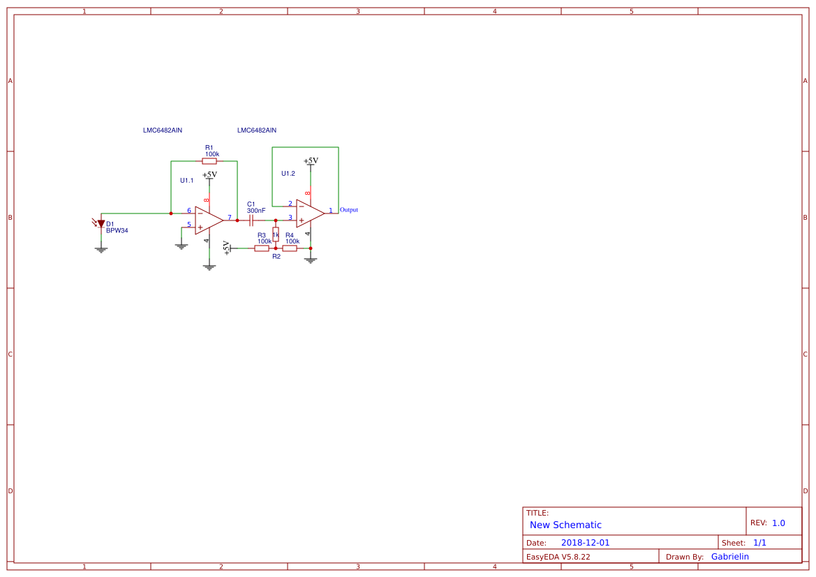 Operation Amplifier Search Easyeda The Transimpedance Circuit 25v Coupled