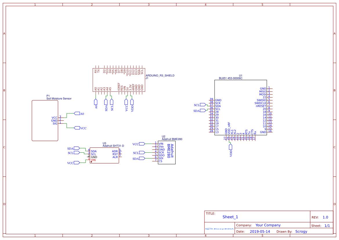 Arduino shield - EasyEDA