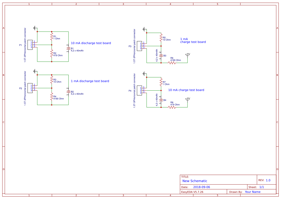 Battery Voltage Search Easyeda Projects Using Lm3914 Test A Car Circuit Diagram Board