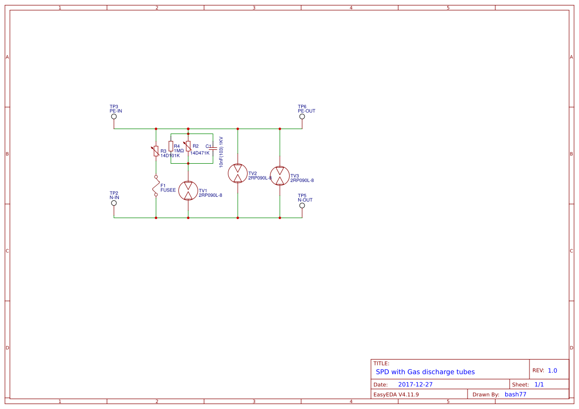 Explore Easyeda Simple Battery Charge Controller Circuit Using Lm324 Comparator Ic Spd Gdt