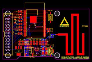 ESP32-LoRa-Node - EasyEDA