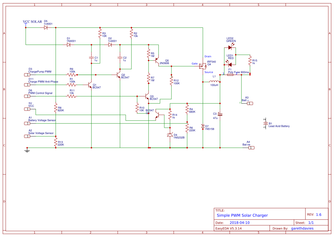 Arduino Pwm Solar Controller Easyeda Charge Circuit Diagram Buy Main
