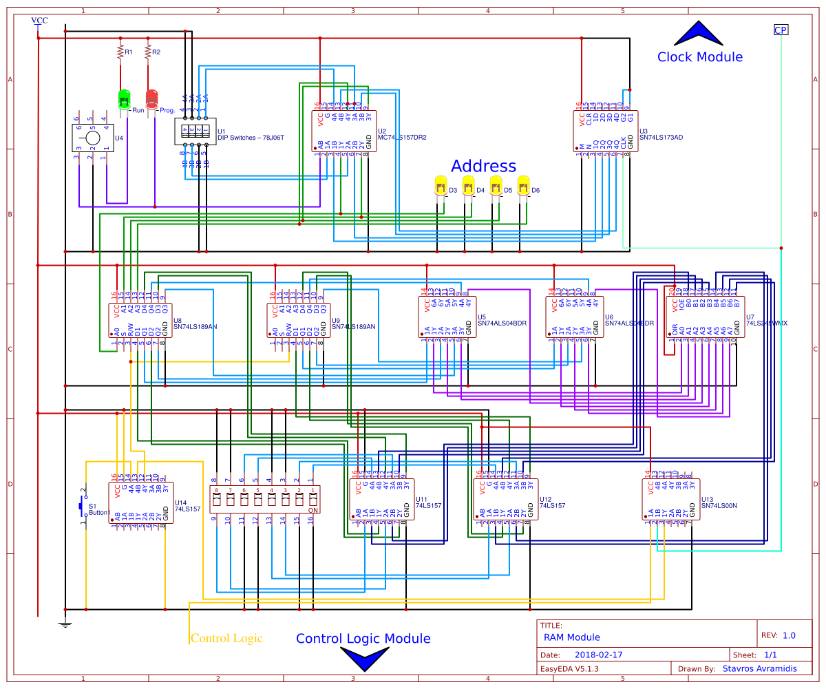 Ben Logic Diagram Excellent Electrical Wiring House From Truth Table Eater 8bit Pc Easyeda Rh Com Circuit