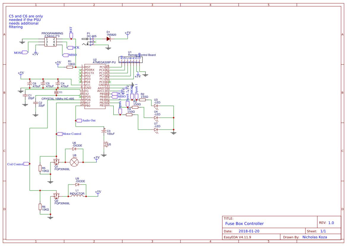 Fuse Box Main Schematic