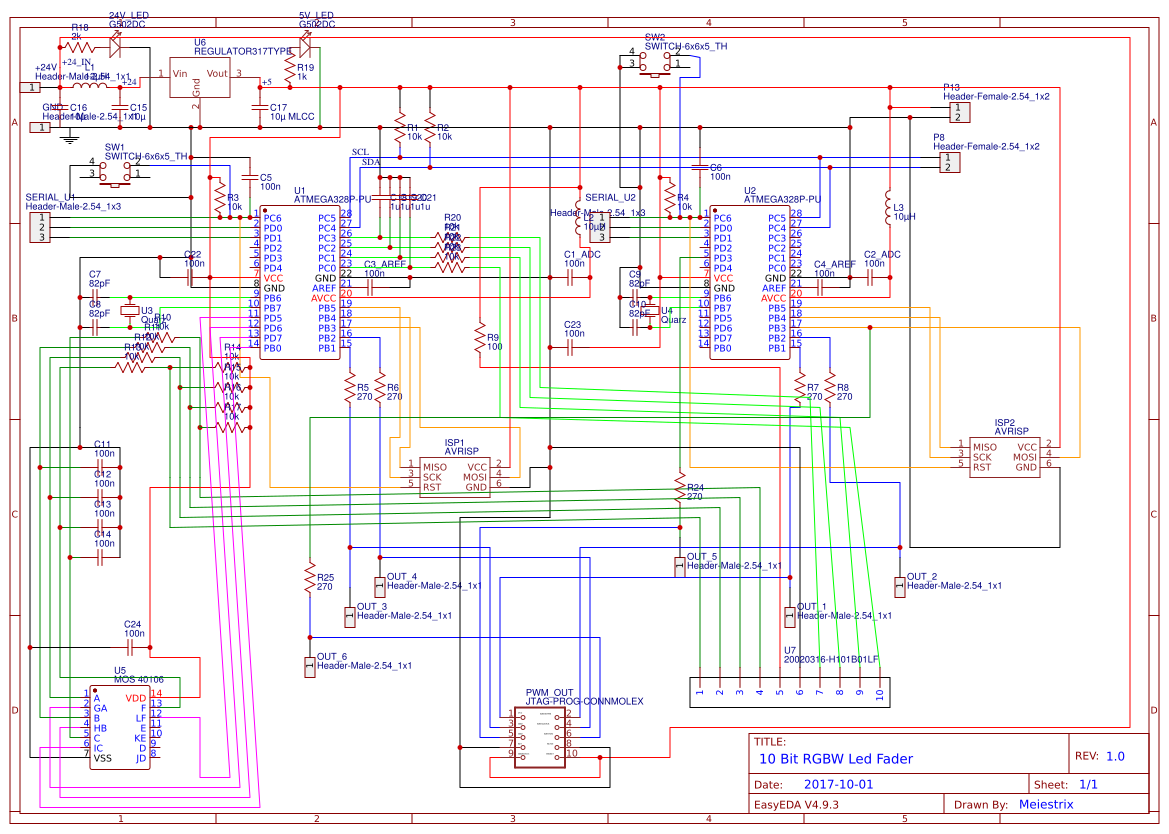 4 Bit2bbinary2badder Search Easyeda 8 Bit Comparator Circuit Diagram 10 Rgbw Ww Led Controller