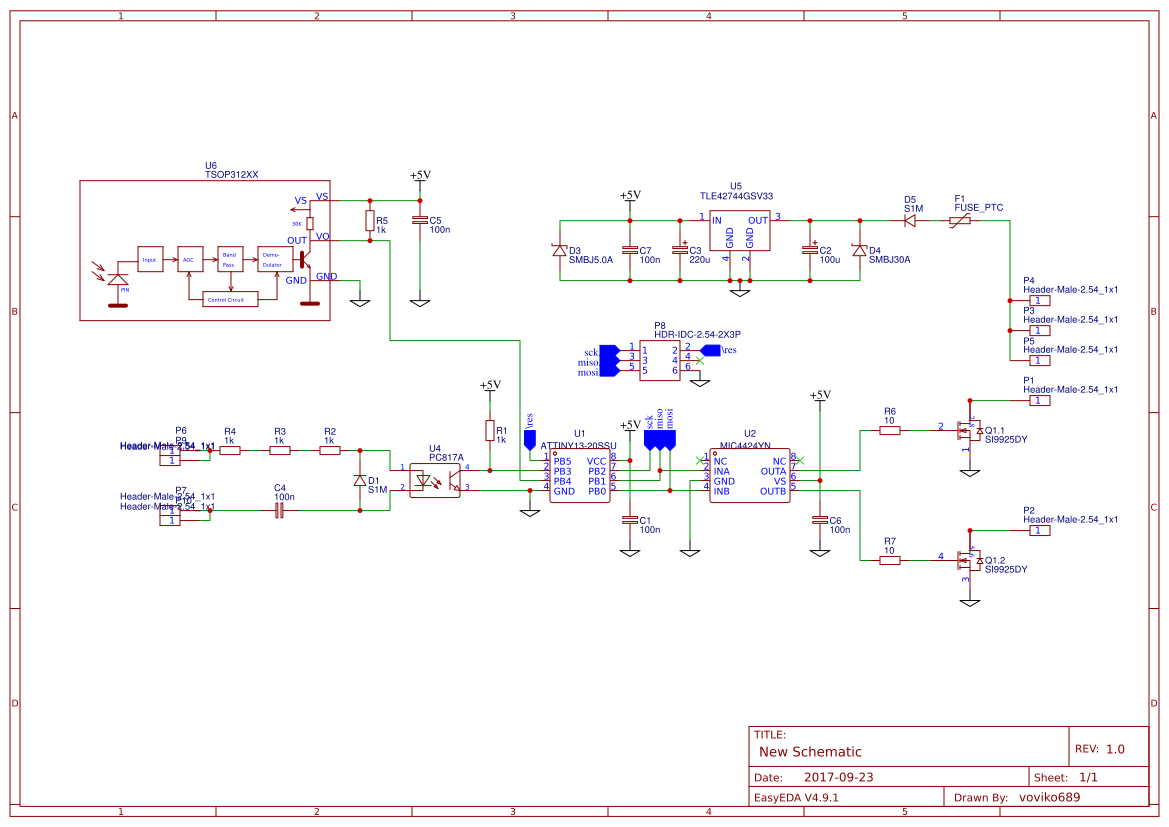 Power Led Driver Search Easyeda Lm317 Circuit Ir