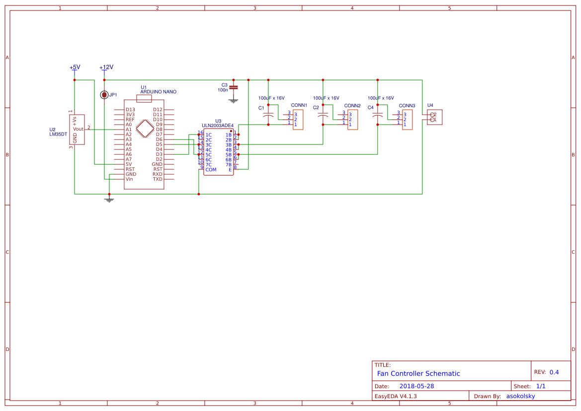 Explore Easyeda Geiger Counter Schematic Forums Projects Diy Universal 2 3 Pin Fan Controller