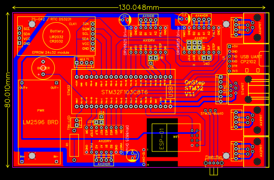 OnStep STM32 Blue Pill