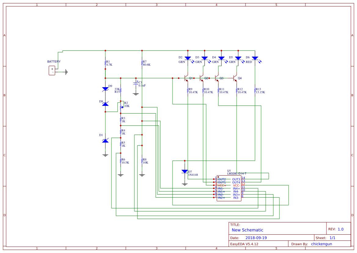 36v Battery Status Indicator Easyeda Wiring Diagram