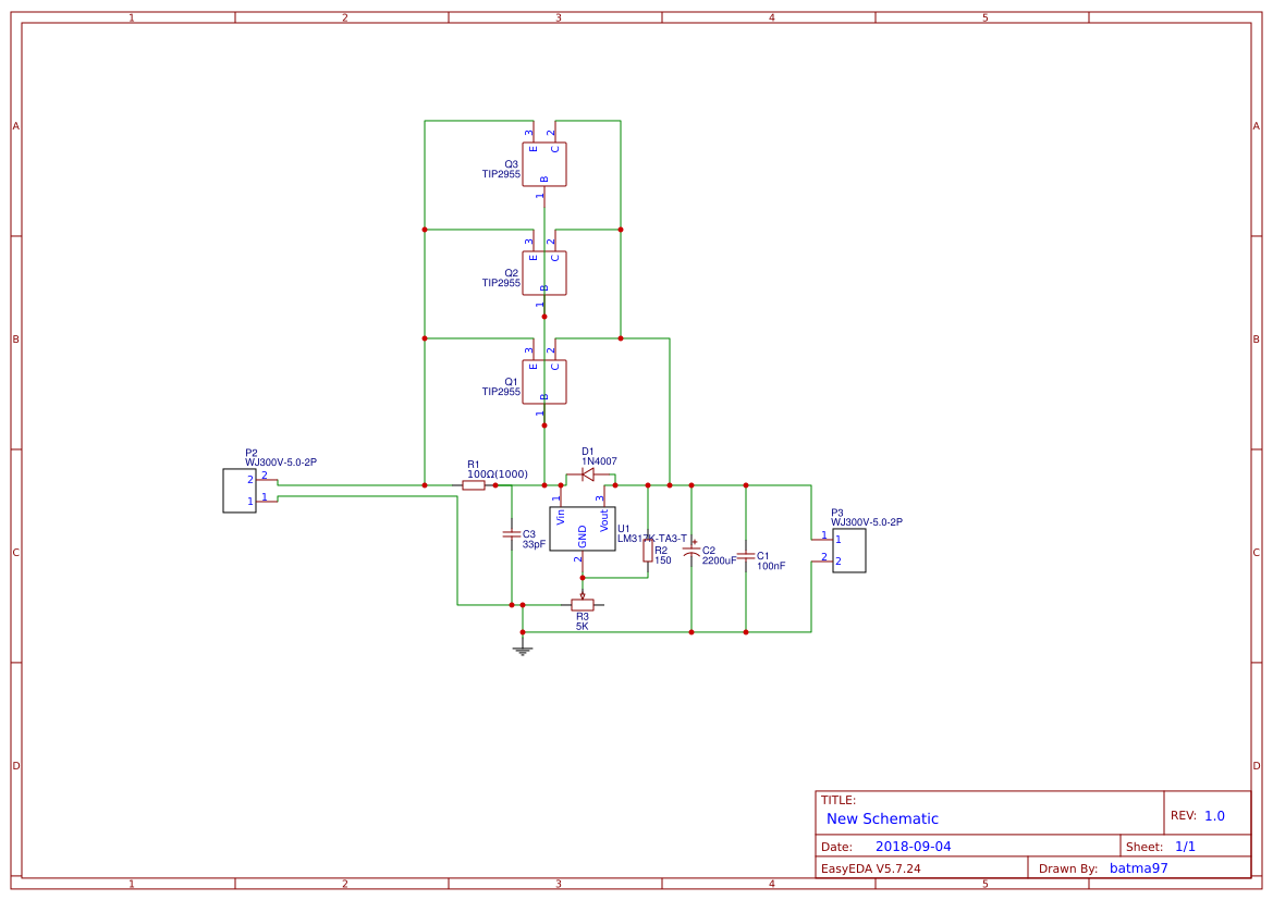 Lm317 Supply Search Easyeda Power Using Lm 317 Lm337 Electronic Circuits And Diagram Adjustable High Current