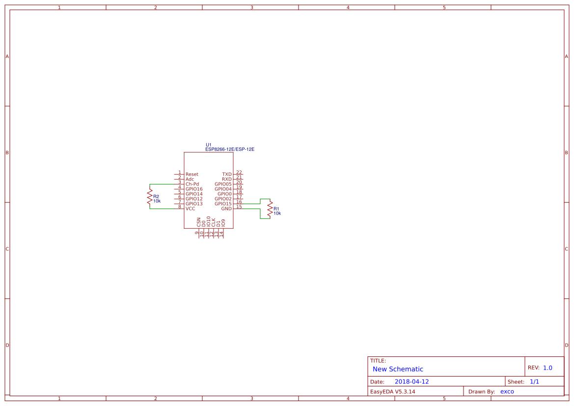 Power Regulator Search Easyeda Adjustable Supply 12 30v 5a Using Lm338 Esp8266 12e Minimal Consumption Breakout Board