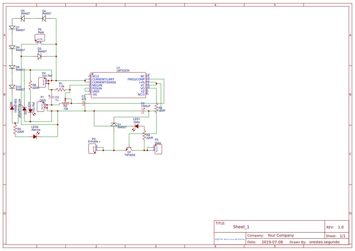 Smoke Detector Arduino Shield - EasyEDA
