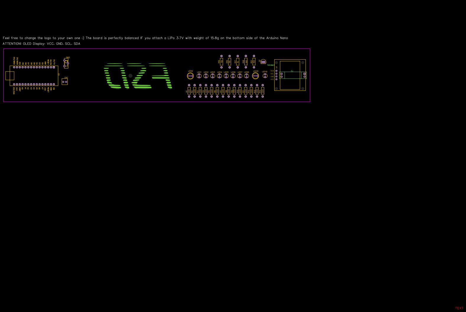 POV Clock with RGB LED copy - EasyEDA