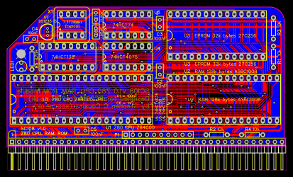 SC108 v1 0 Z80 Processor for RC2014 - EasyEDA