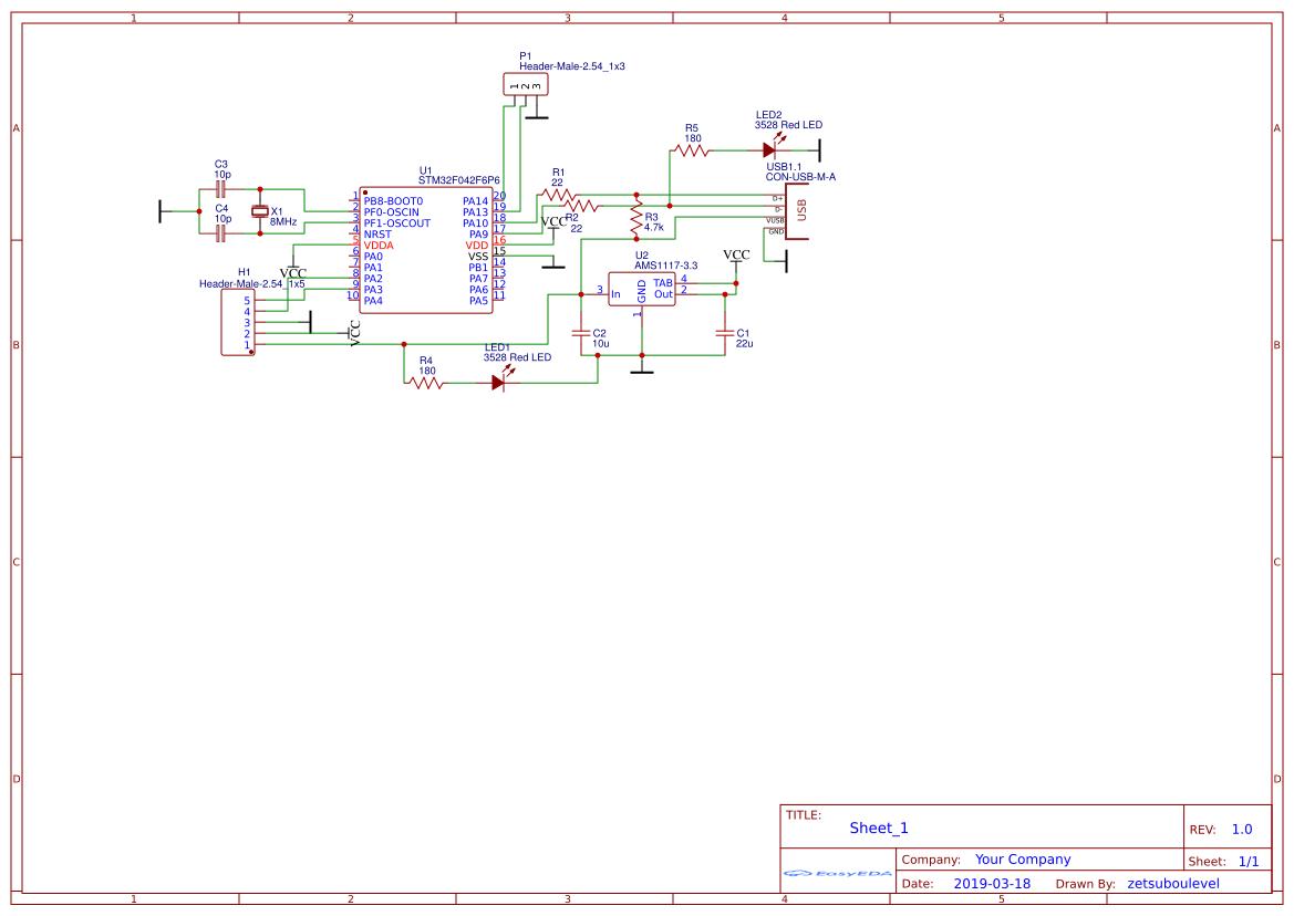 SAMD21 Modchip V :SAP 0 copy - EasyEDA
