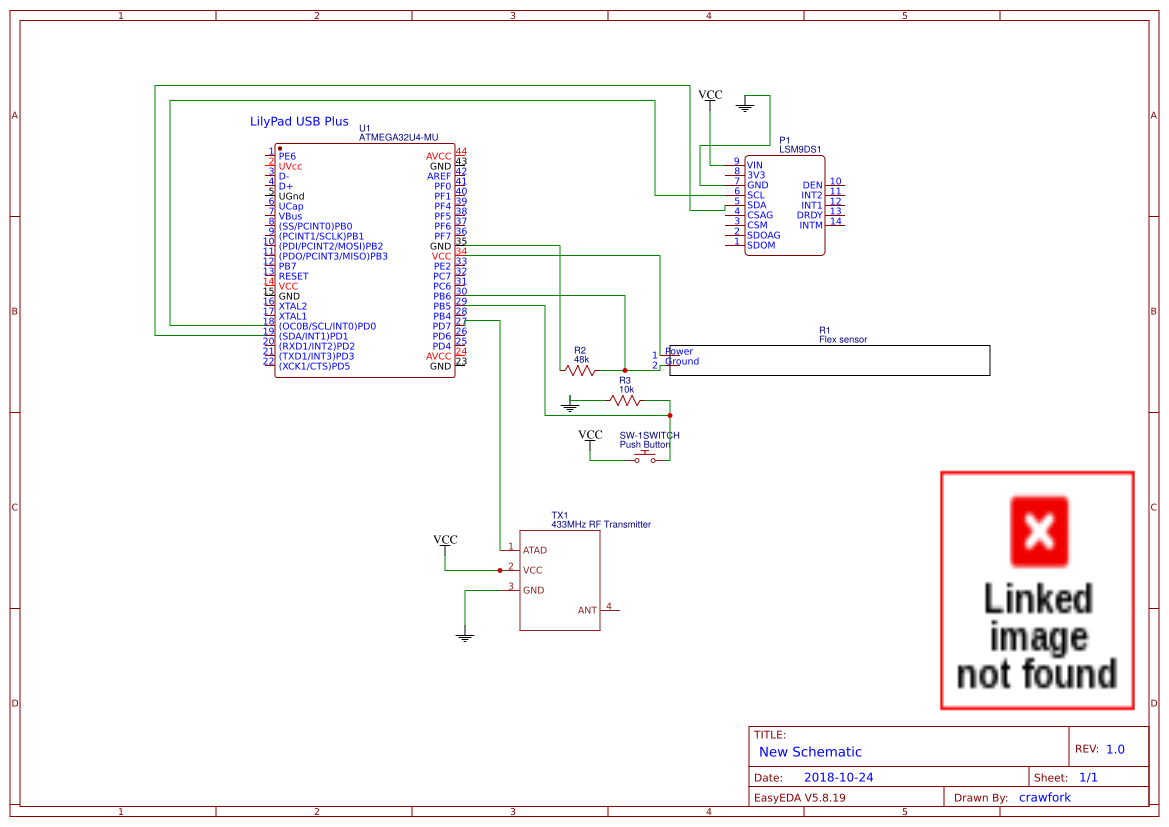 Project Schematic - EasyEDA