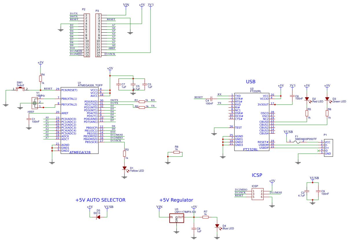 Arduino Nano 3 2 - EasyEDA