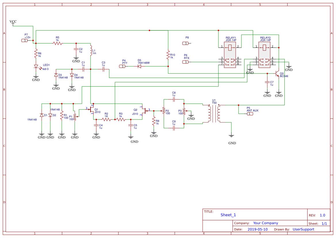 ENC28J60 Ethernet Board - EasyEDA