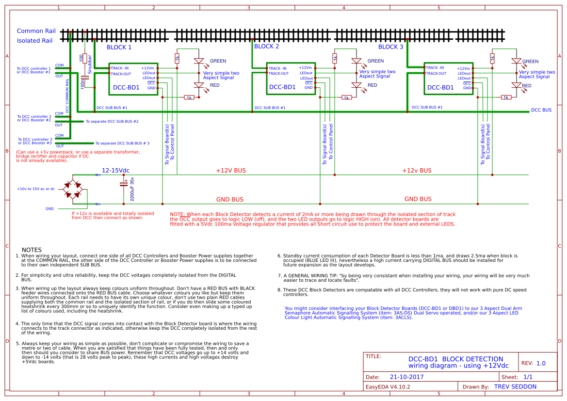 wiring diagrams easyedadcc block detection 12vdc wiring diagram