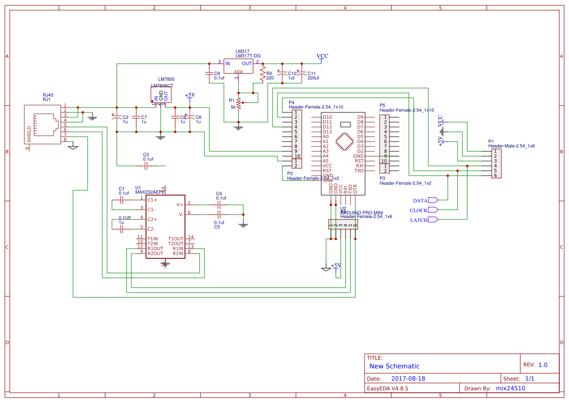 7 Segment Display 1 Search Easyeda Logic Diagram For Bcd To Decoder 23 Inches 74hc595 Test