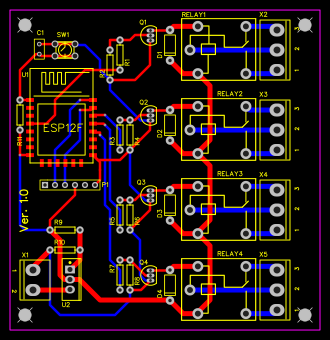 ESP8266 Relay Board