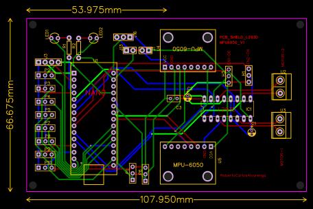 SHIELD-NANO-V3-L293D-MPU6050 - EasyEDA