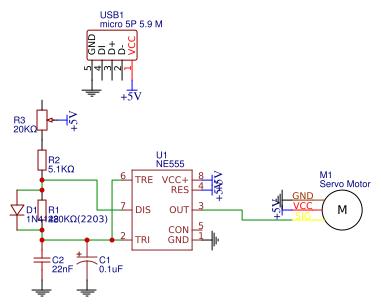 PWM Signal generator - EasyEDA