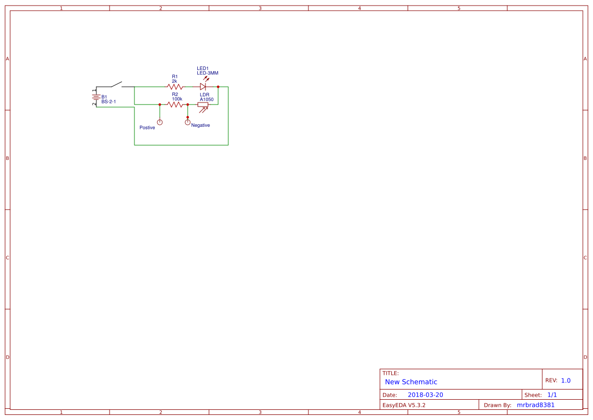 Ldr Circuit Easyeda Working Project Model Bom