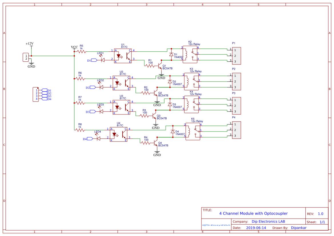Arduino Uno R3 - MCP3202 Wiring Diagram - EasyEDA
