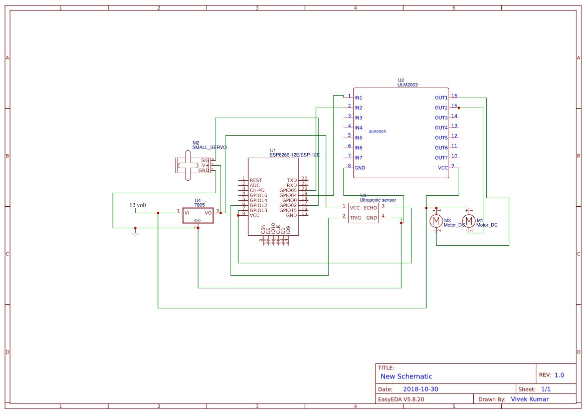 Washing Machine Wiring Diagram from image.easyeda.com