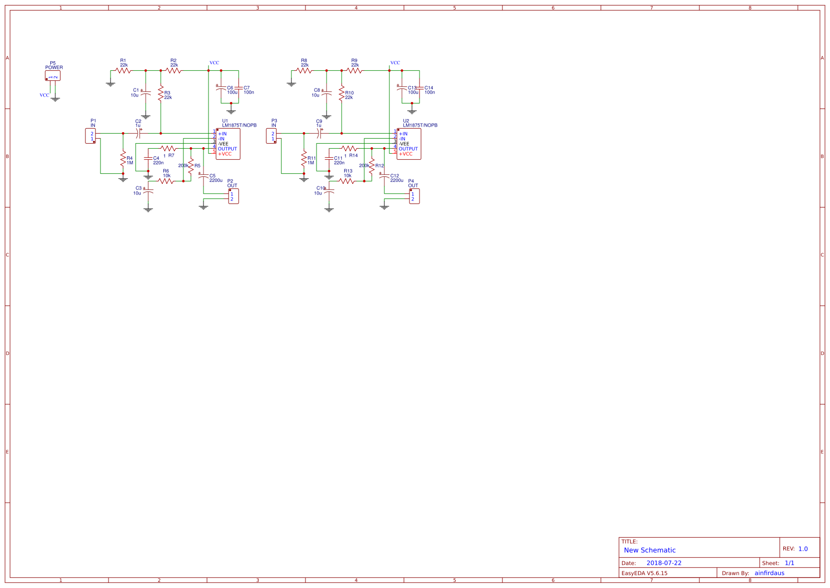 Lm1875 Amplifier Circuit Search Easyeda 20w Audio Using