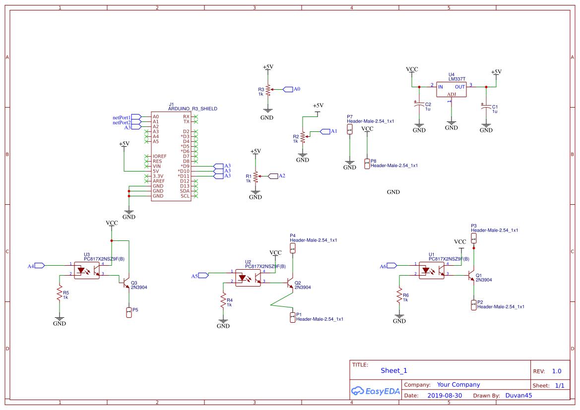 RFID MFRC522 - EasyEDA