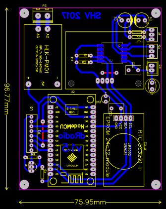 Esp8266(Node mcu) FM v1 5 - EasyEDA