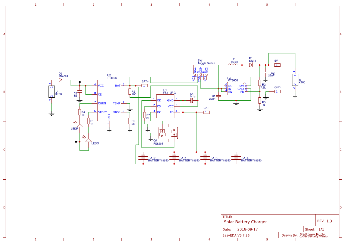 Battery Charger Circuit Search Easyeda Diagram Using L200 Solar