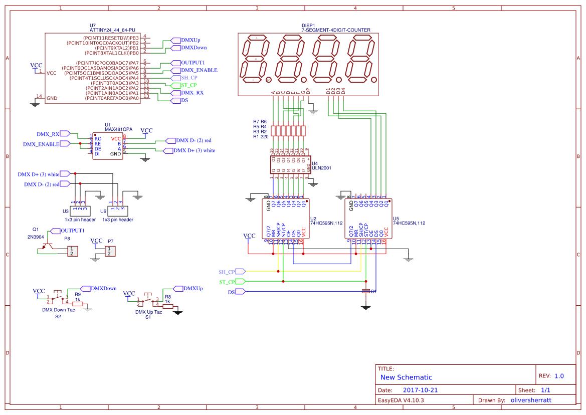 Explore Easyeda Stepper Html Http Www Circuitstoday Com Motor Controller Arduino Based Dmx Receiver