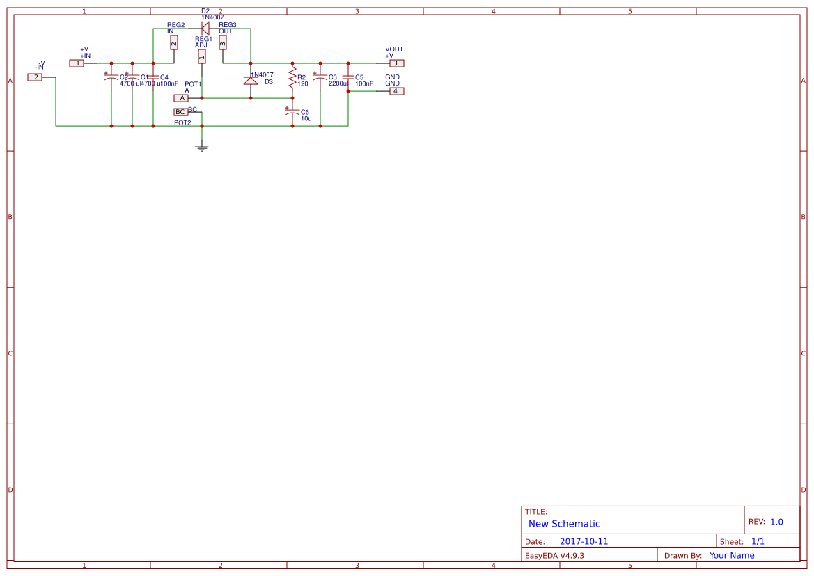 Lm338 Circuit Search Easyeda 25v 5a Power Supply Diagram And Variable