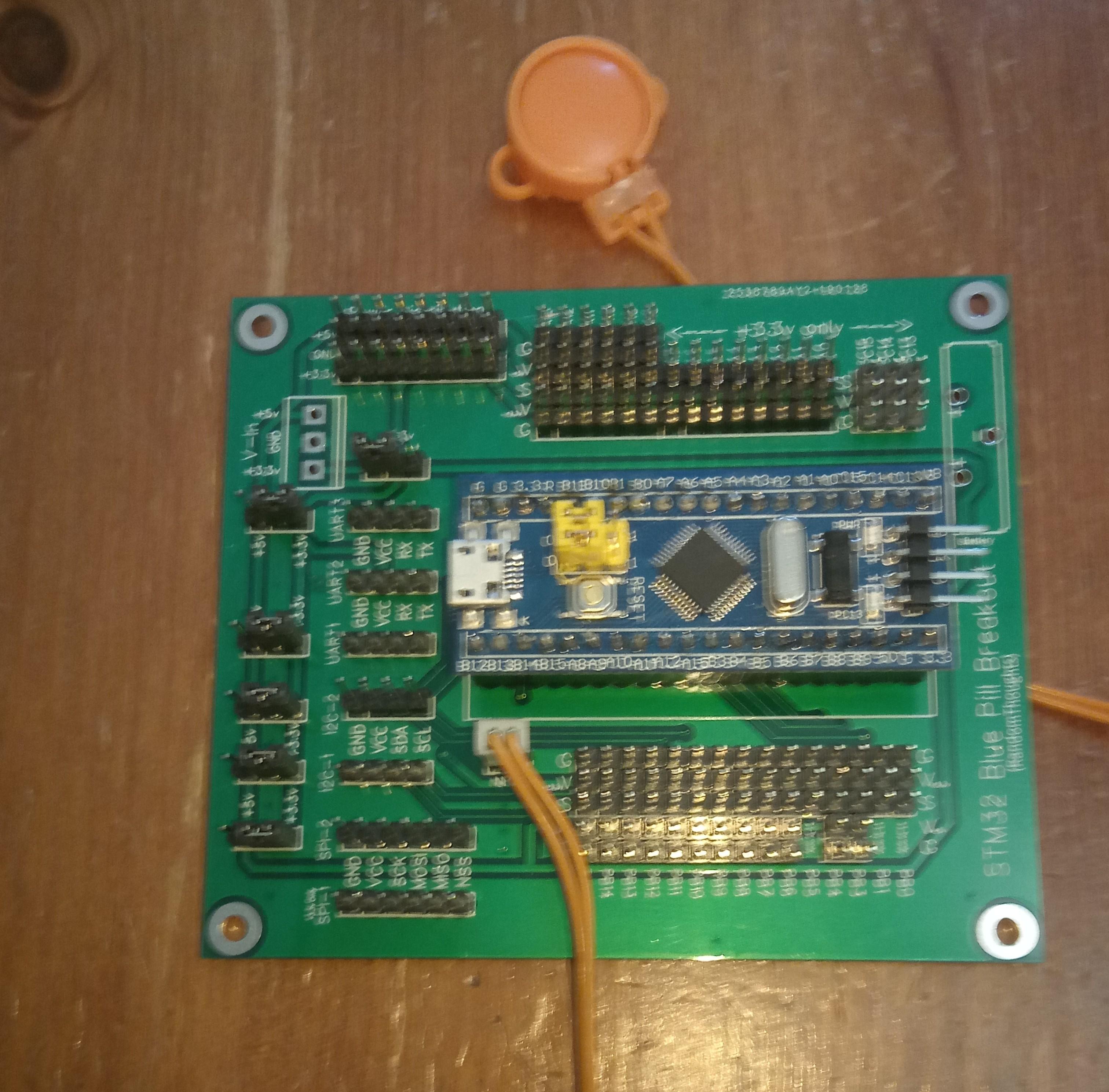 STM32 'Blue Pill' Breakout Board - EasyEDA
