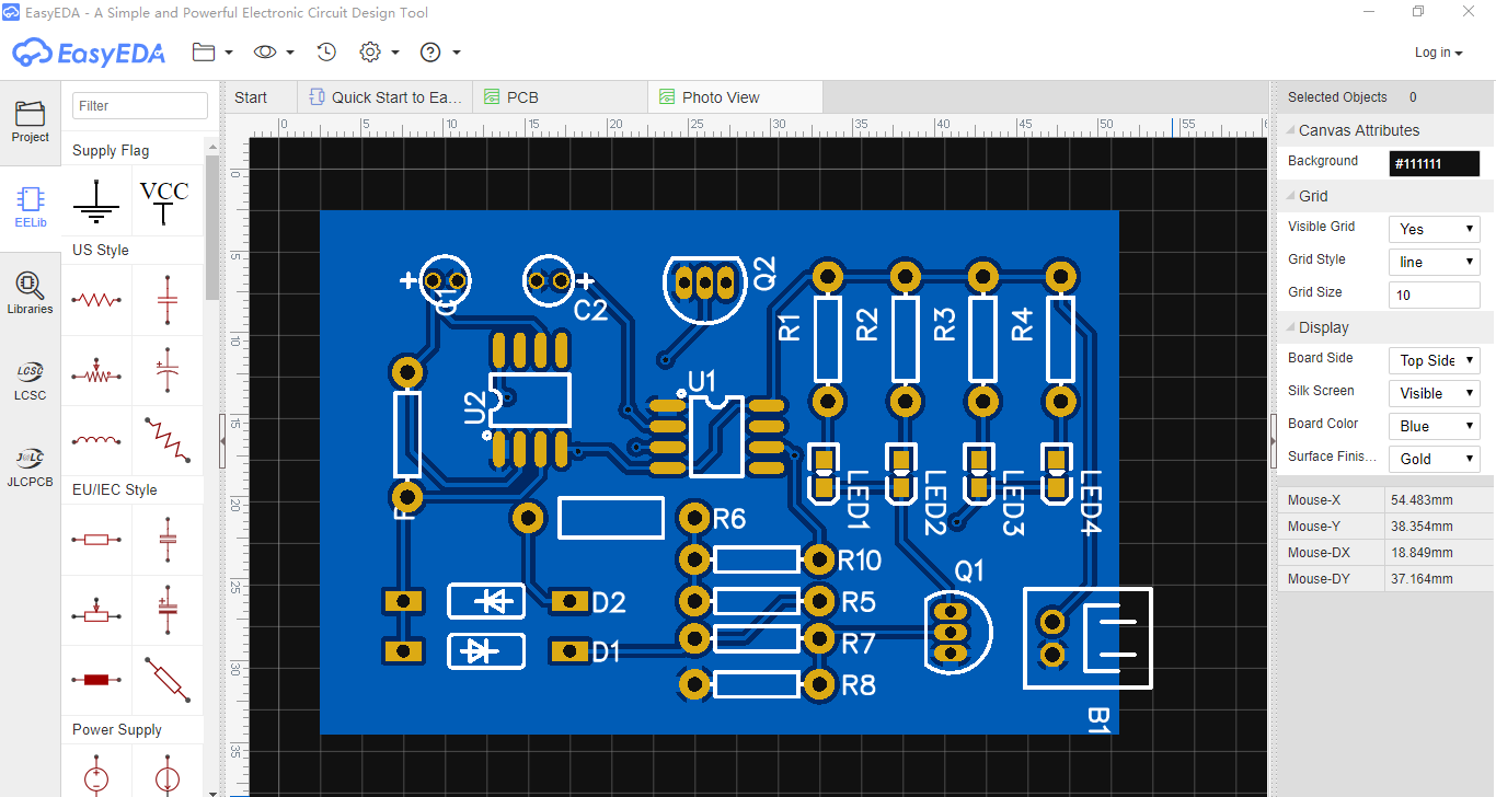 Forum Easyeda An Easier Electronic Circuit Design Experience Easyeda